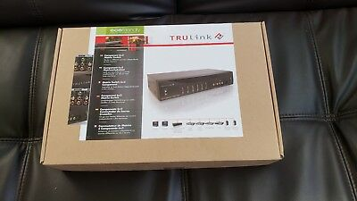 TRULink 6x2 Component Video Selector Switch Stereo Audio TOSLink Digital Matrix