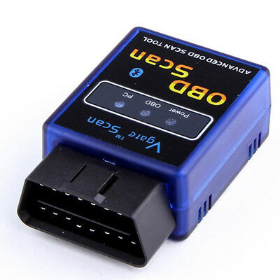 1pc Vgate ELM327 Bluetooth OBD2 V2.1 Scanner Car Diagnostic Adapter Scan Tool