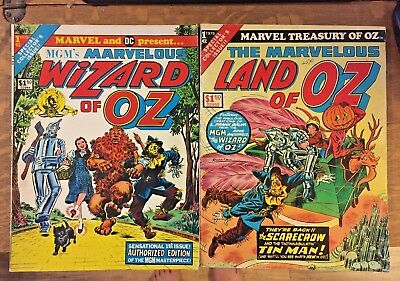 MGM's Marvelous WIZARD OF OZ & Land of Oz Comics large format 1975 Lot 2