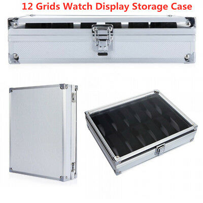 Aluminum Alloy Simple Buckle  Home Storage Column Boxes Jewel Case Watch Box