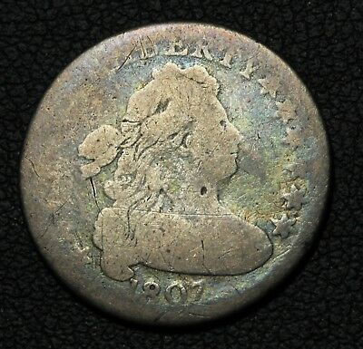 1807 Draped Bust Silver Dime