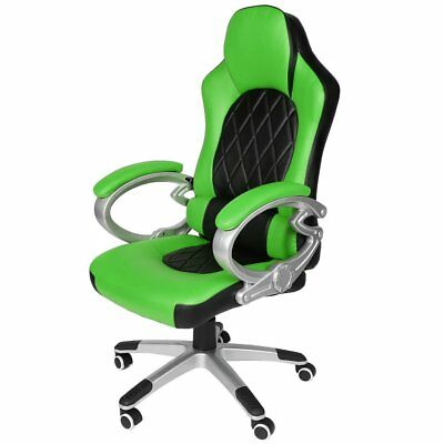 New Office Chair Executive Racing Gaming Swivel Pu Leather Sport Computer Desk