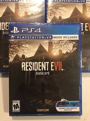 NEW Resident Evil 7 Biohazard (Sony PlayStation 4, 2017) PS4 - Ships Fast!