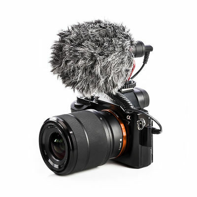 BOYA BY-MM1 Cardiod Shotgun Video Microphone MIC Video for iPhone Canon Nikon