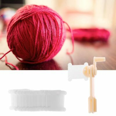 String Winder and 30pcs Thread Card Embroidery Thread Bobbin Stitch Winder Wound