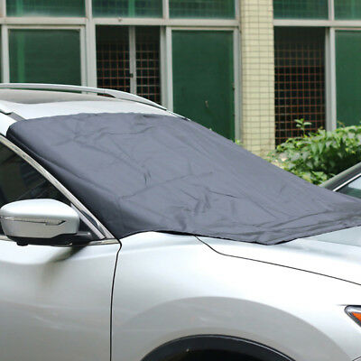Magnetic Windscreen Car Cover Sun Shield Frost Snow Dust Protection Windshield