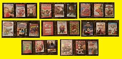 CHRISTMAS DVDs -Movie, Concert, Vintage, Cartoon, etc. See photos - as of 12/19
