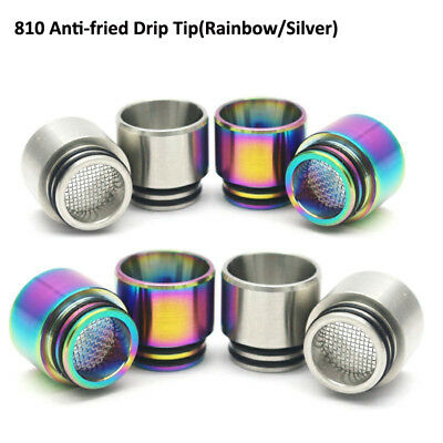 1PC 810 Stainless Steel Drip Tip Anti Spit Drip Tip for TFV12 Prince TFV8 TFV12