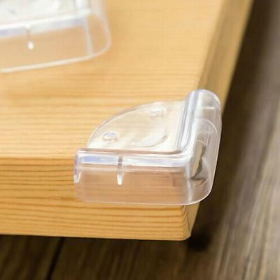 1x PVC Safety Edge Table Corner Protectors Guards For Child & Baby/High Clear
