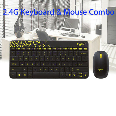 b7193b36fc3 Wireless Keyboard and Mouse Logitech MK240 Combo for Laptop Desktop USB  Receiver