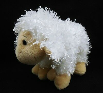 Ganz Webkinz Lamb HM201, Plush stuffed white Sheep, NO Code