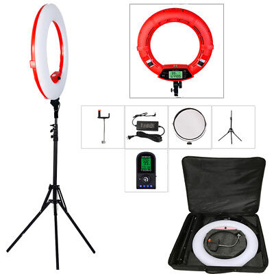 Yidoblo 5500K FE480II Dimmable LED SMD Ring Light With Remote Control For Makeup