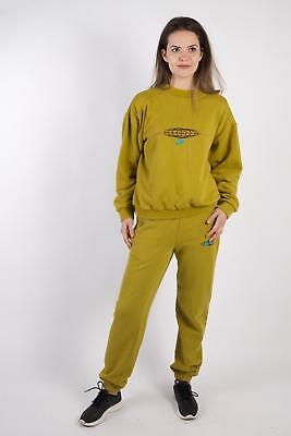Vintage Nike Tracksuits Set Top Bottom Retro  Sport UK Chest M Green - SW2213