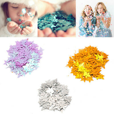 15g Glitter Colorful Butterfly Table Confetti Sprinkles Wedding Party Decoration