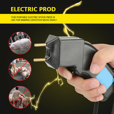 Handheld Electric Stock Prod Livestock Shock Moving Tool for Pig Sheep Cattle