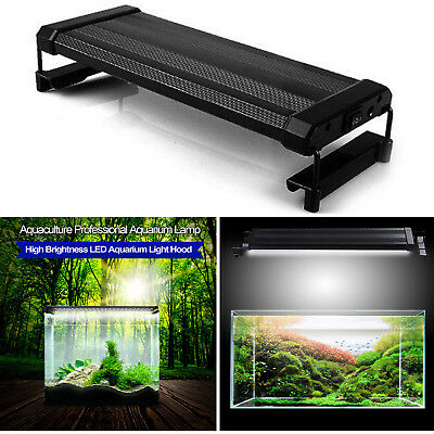 Aqua Aquarium LED Light Fish Tank Lamp Full Spectrum Natural Lighting White+Blue