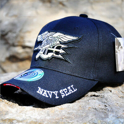 45fd7f0d6f2 US Navy Seal Baseball Cap Embroidered Tactical Raid Hat Military Adjustable  Cap