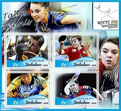 Stamps Table tennis