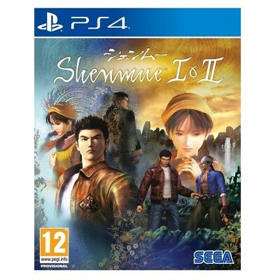 Shenmue I + II PS4 (SP)