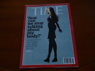 Time Magazine February 8 2016 Barbie's New Body, Donald Trump, Nfl *As Pictures*