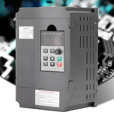 1.5kW/220V Single-phase to 3-phase Variable Frequency Drive VFD Speed Controller