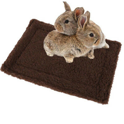 Washable Warm Soft Pet Rabbit Hamster Mice Cage Pad Bed Mat Sleeping Nest N7