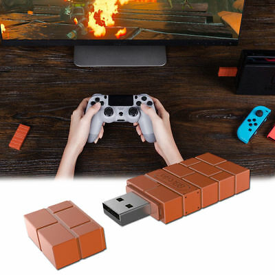 AU 8Bitdo Wireless Bluetooth Receiver USB Converter For Nin-tendo Switch Adapter