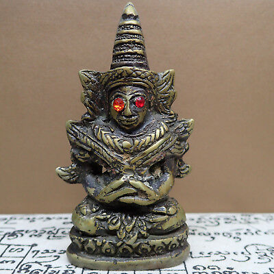 Phra Ngang Ta Daeng Red Eyes Statue  Bucha Cambodia Buddha Amulet Love Success