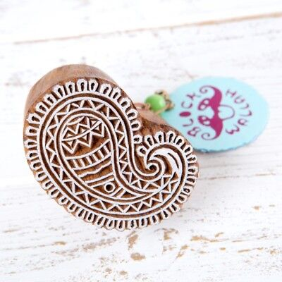 Blockwallah Wooden Stamps - Varied Designs