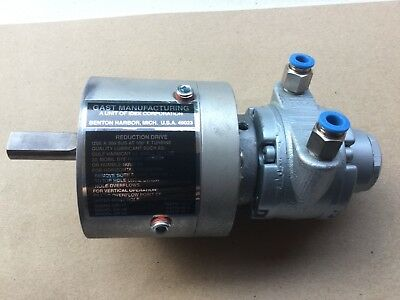 GAST MANUFACTURING 1AM-NRV-56-GR11 Gear Motor with GR11 Reduction Drive