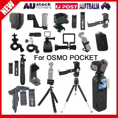 Phone Holder Set Carrying Case Sceen Film For DJI OSMO POCKET Accessory Lot AU