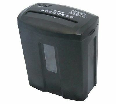 ProAction Paper Shredder 8 Sheet 15 Litre Micro Cut Cross Cut A4 Auto on Reverse
