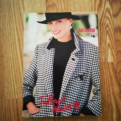 Sears Canada Fall and Winter 1991 Catalogue 892 pages in EX condition