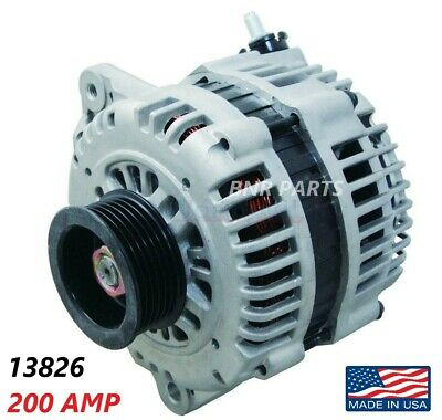 200 Amp 13826 Alternator fits Nissan Maxima Murano High Output HD Performance