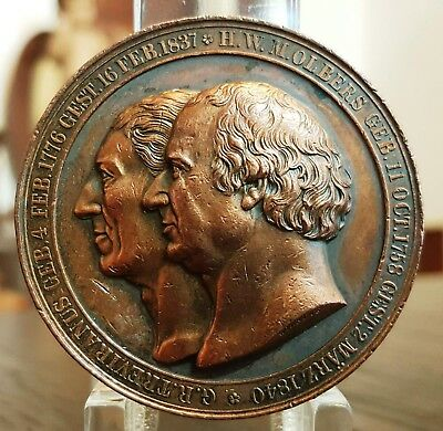 GERMANY. Bremen museum, Treviranus and Olbers, Astronomer and naturalist Medal