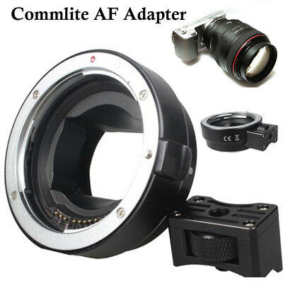 For Canon EOS EF EF-S lens to Sony NEX E-mount Camera Commlite AF Mount Adapter