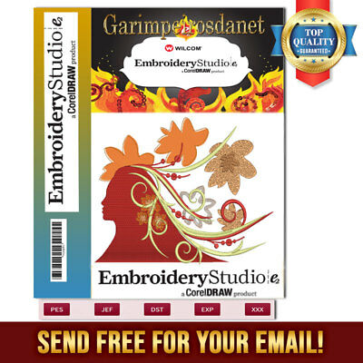 Wilcom Embroidery Studio E2 software Windows 7- 8.1-10 send free for your e-mail