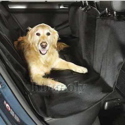 Car Rear Back Seat Cover For Dog Cat Pets Safety Waterproof Protector Hammock