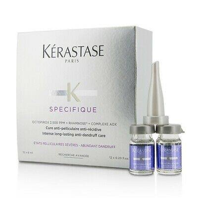 Kerastase Specifique Intense Long-Lasting Anti-Dandruff Care 12x6ml Treatments