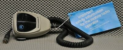 NOS Motorola HMN1016A Communications microphone new old stock