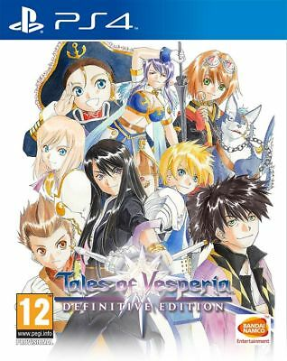 TALES OF VESPERIA: Definitive Edition (PS4) IN STOCK NOW Brand New & Sealed