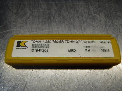 Kennametal Carbide Insert QTY:5 TDHH 07 T12 02R KC730 (LOC1172B)