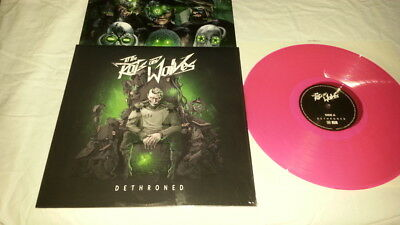To the rats and wolves Dethroned Pink Colored Vinyl LP