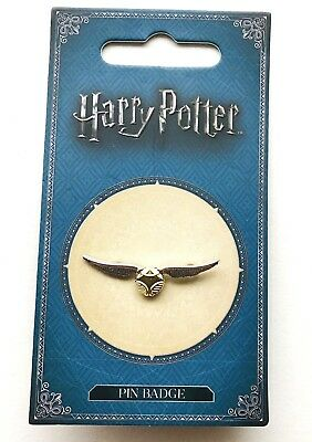 Golden Snitch Charm Pin Badge Official Harry Potter Merchandise Warner Bros NEW