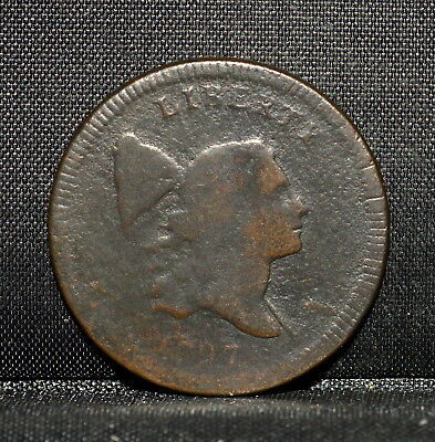 1797 Liberty Cap Half Cent ✪ Vf Very Fine ✪ 1/2C L@@k Now Details Corr ◢Trusted◣
