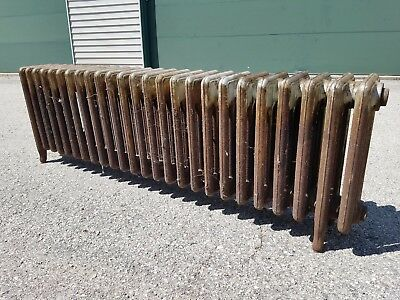 Cast Iron Vintage American Radiator -- Corto Steam Hot Water 25 fin