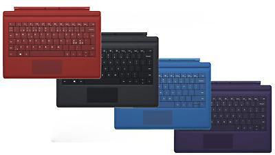 Genuine Microsoft Surface Pro Type Cover Backlit Keyboard for Surface Pro 3, 4