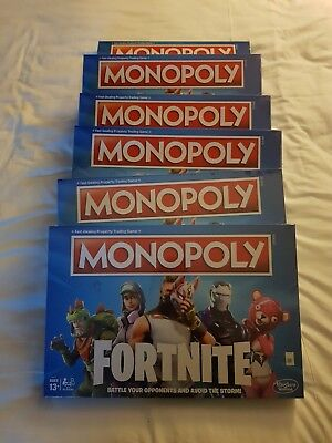 Fortnite Monopoly Board Game Family Card By Hasbro Gaming