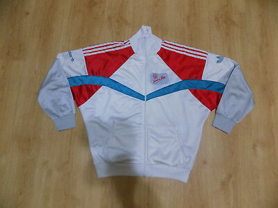 new arrival 49bbb 4a6f7 Adidas Men Vintage Retro Old Jacket Jacke Tracksuit Track Top Multicolor  Size M