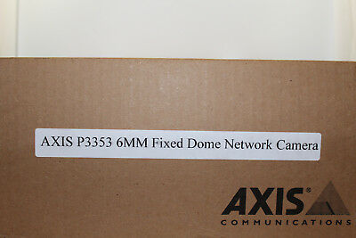 Axis Communications 0464-001 Tamper-Resistant Indoor Fixed Dome Network Camera